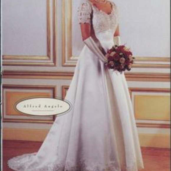 Vintage 90's Wedding Gown